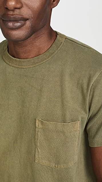 Velva Sheen Pigment Dyed Pocket T-Shirt