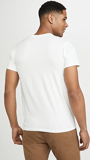 Velva Sheen 2 Pack Short Sleeve Pocket Tee