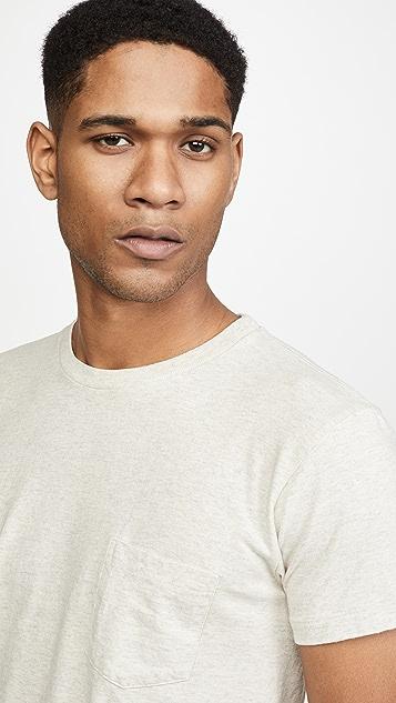 Velva Sheen 2 Pack Short Sleeve Pocket T-Shirt