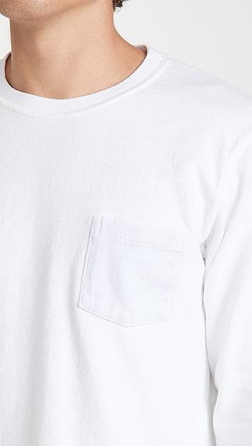 Velva Sheen Pigment Dye Heavyweight Pocket Tee