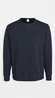 Velva Sheen Japanese Loopwheeler Big Crew Sweatshirt
