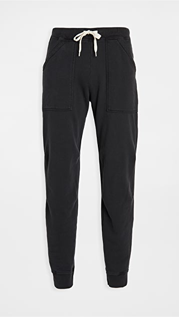 Velva Sheen Pigment Dye Army Sweatpants