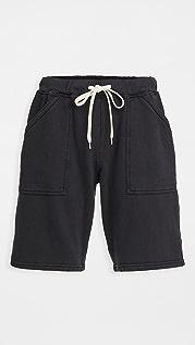 Velva Sheen 8oz Pigment Army Gym Shorts
