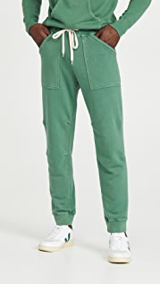 Velva Sheen Pigment Army Gym Sweatpants