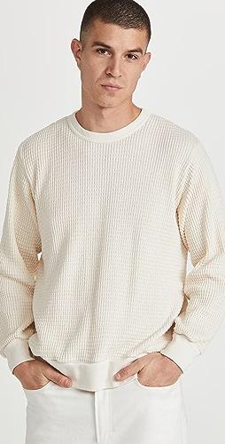 Velva Sheen - Heavy Thermal Crew Sweatshirt