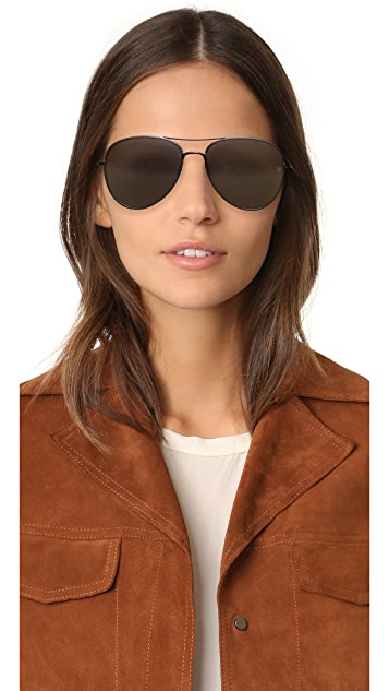 Vedi Vero Shielded Aviator Sunglasses