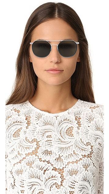 Vedi Vero Matte Aviator Sunglasses
