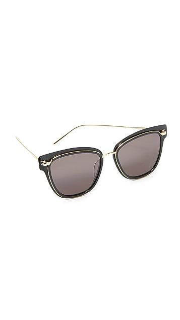Vedi Vero Metal Rimmed Square Sunglasses
