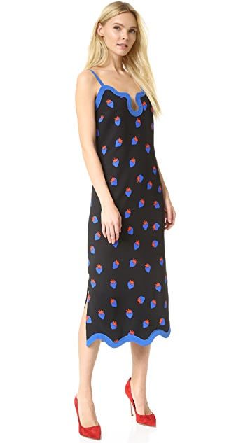 Victoria Victoria Beckham Wiggle Trim Dress