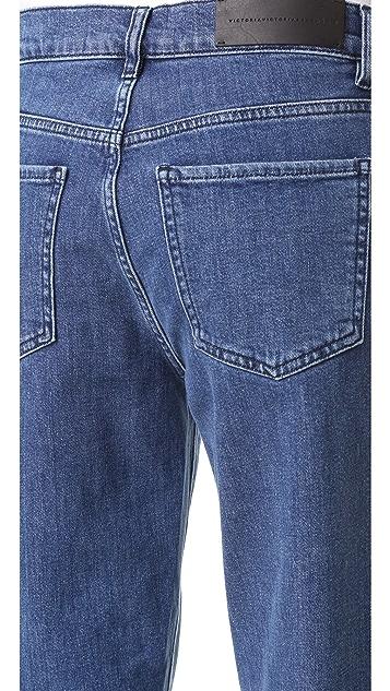 Victoria Victoria Beckham Neat Boyfriend Jeans