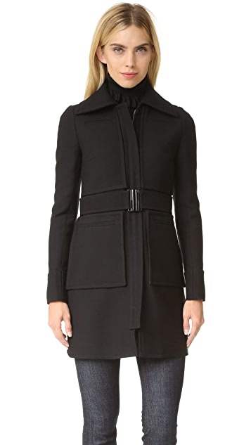 Victoria Victoria Beckham 4 Pocket Fitted Coat