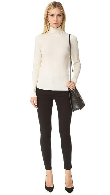 Victoria Victoria Beckham Button Back Sweater