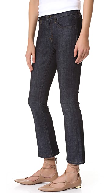 Victoria Victoria Beckham Fluted Crop Jeans