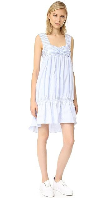 Victoria Victoria Beckham Striped Bandeau Dress
