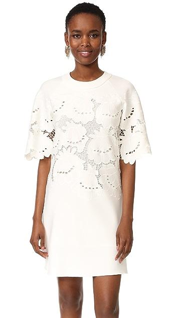4cc3833b8 Victoria Victoria Beckham Lace Embroidered Shift Dress | SHOPBOP
