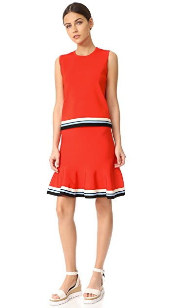 Victoria Victoria Beckham Pull On Skirt