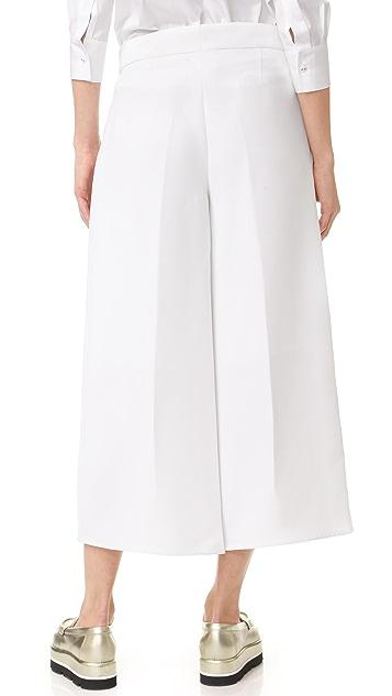 Victoria Victoria Beckham Fold Front Culottes