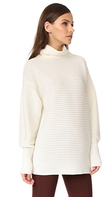 Victoria Victoria Beckham Funnel Neck Sweater