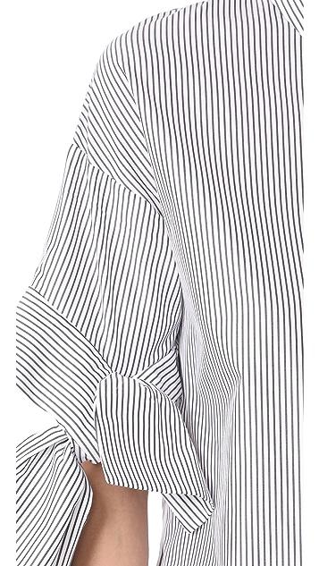 Victoria Victoria Beckham Bow Sleeve Shirt