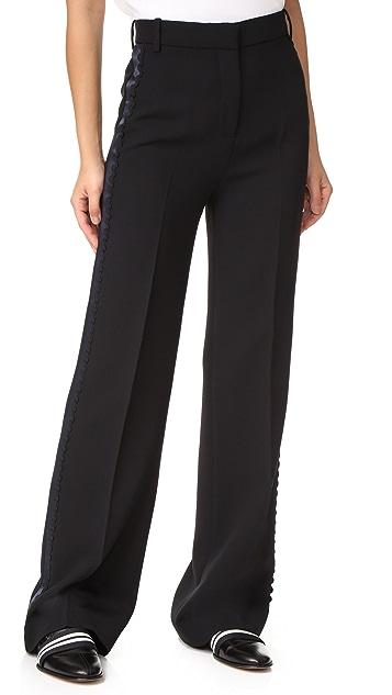 Victoria Victoria Beckham Wide Leg Tux Pants
