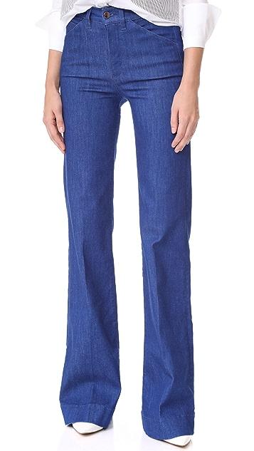 Victoria Victoria Beckham Wide Leg Jeans