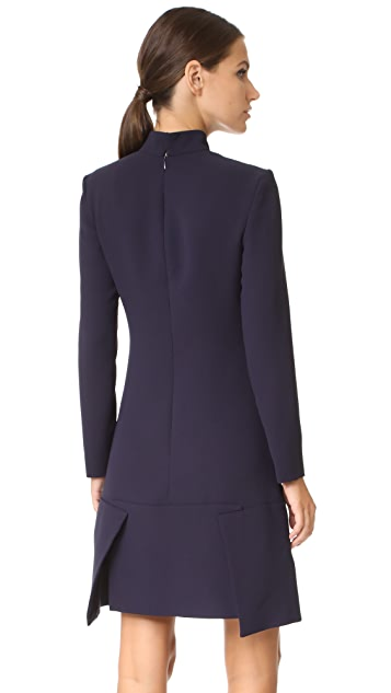 Victoria Victoria Beckham Panel Hem Shift Dress