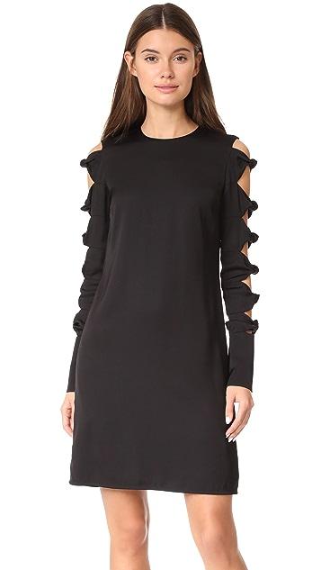 Victoria Victoria Beckham Knot Sleeve Dress