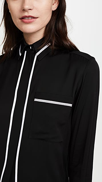 Victoria Victoria Beckham One Pocket Shirt