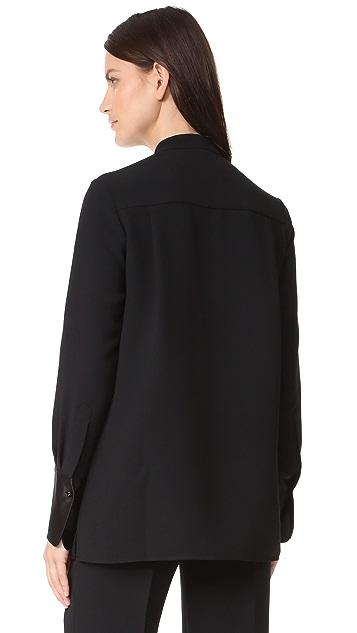 Victoria Victoria Beckham Contrast Stripe Shirt