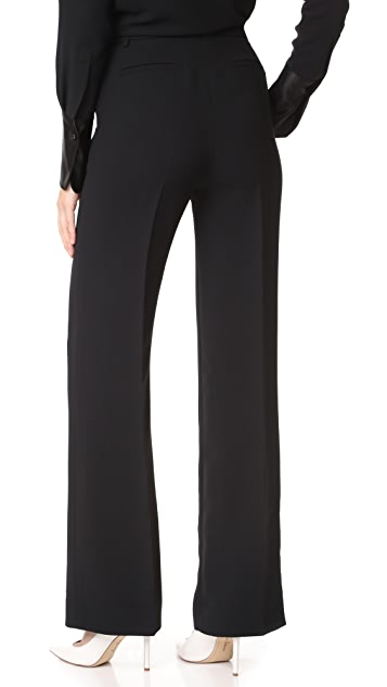 Victoria Victoria Beckham Contrast Stripe Pants