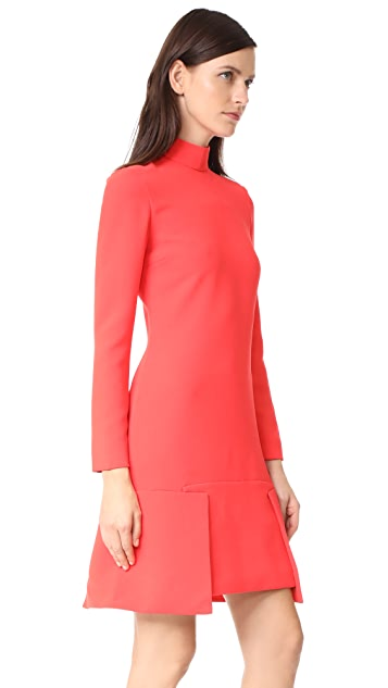 Victoria Victoria Beckham Panel Hem Shift