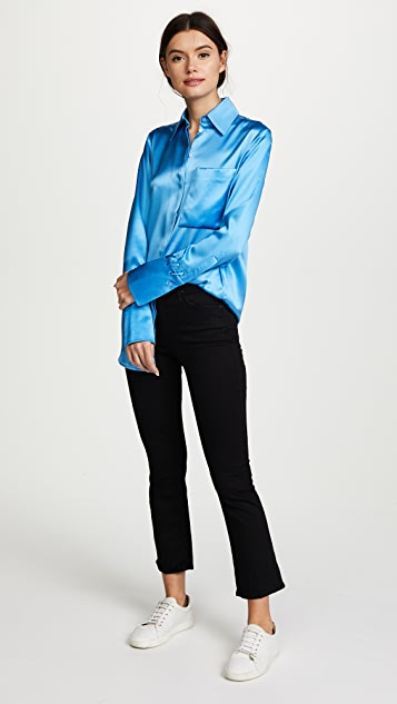 Victoria Victoria Beckham One Pocket Fluid Shirt