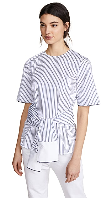 Victoria Victoria Beckham Sleeve Wrap Top