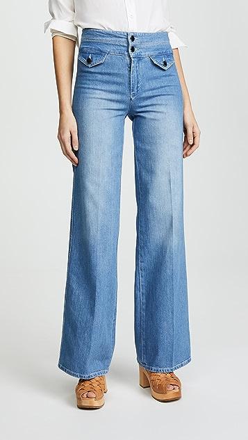 Victoria Victoria Beckham 70's Wide Leg Denim