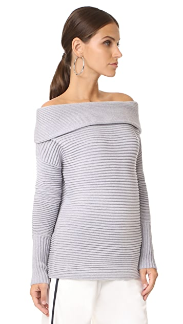 Victoria Victoria Beckham Off The Shoulder Sweater