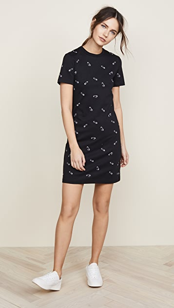 Victoria Victoria Beckham Safety Pin Mini Dress