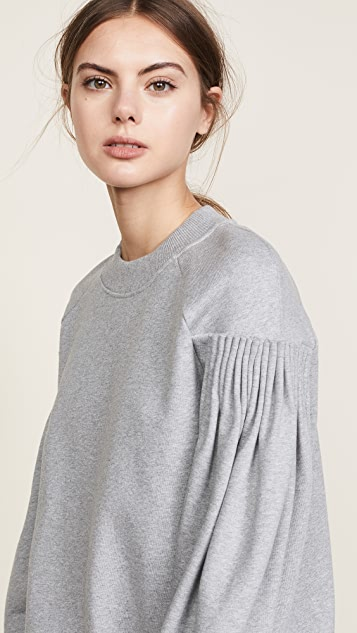 Victoria Victoria Beckham Cartridge Pleat Sweatshirt