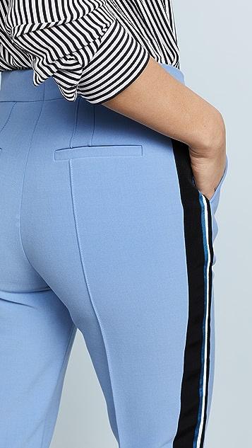 Victoria Victoria Beckham Ribbon Stripe Pants