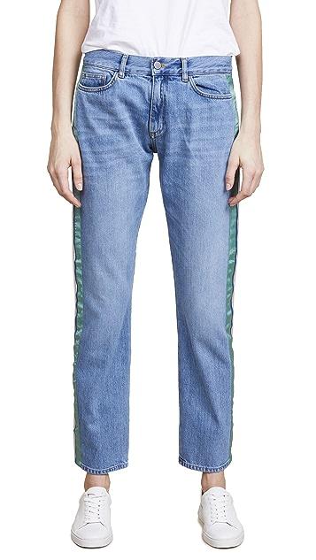 Victoria Victoria Beckham Straight Slouch Jeans