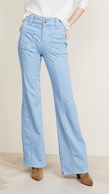 Victoria Victoria Beckham 70's Wide Leg Jeans