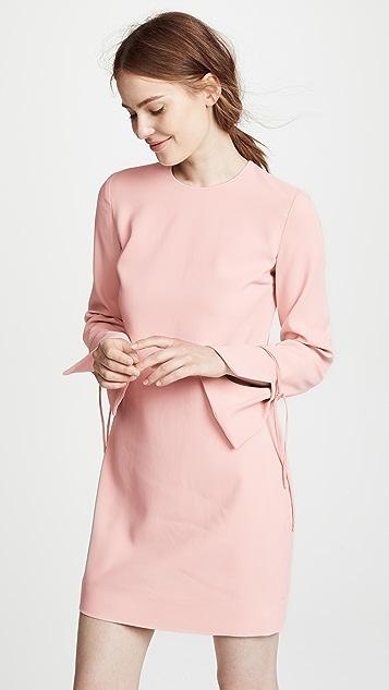 Victoria Victoria Beckham Tie Cuff Shift Dress