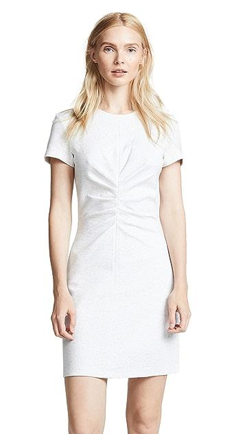 Victoria Victoria Beckham Tuck Front Mini Dress
