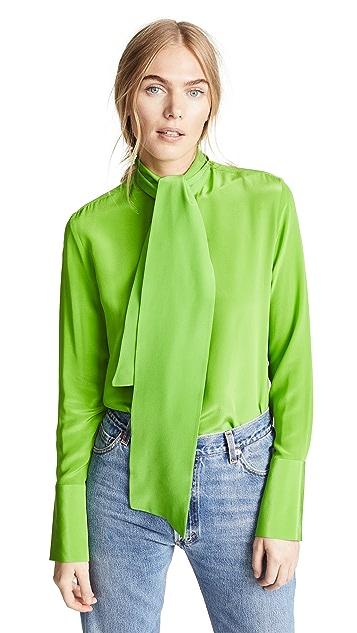 Victoria Victoria Beckham Tie Collar Shirt