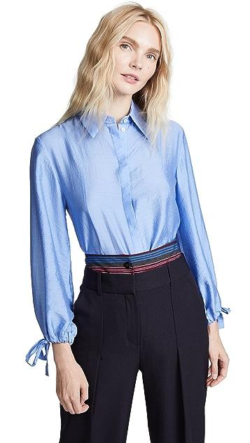 Victoria Victoria Beckham Tie Cuff Shirt