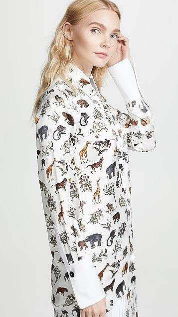 Victoria Victoria Beckham Grandad Shirt