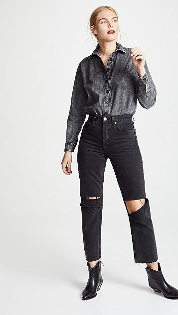 Victoria Victoria Beckham Boyfriend Shirt