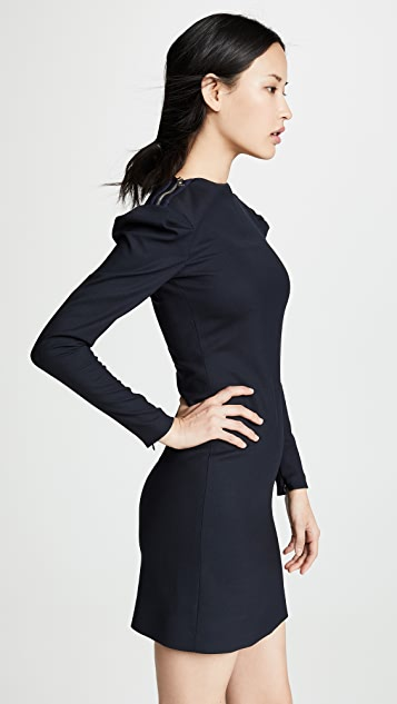 Victoria Victoria Beckham Tuck Shoulder Shift Dress