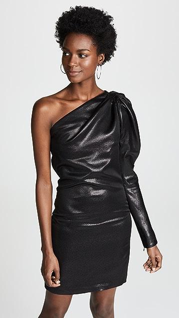 Victoria Victoria Beckham Платье с открытым плечом и крученой деталью