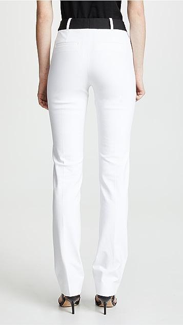 Victoria Victoria Beckham Двухцветные брюки