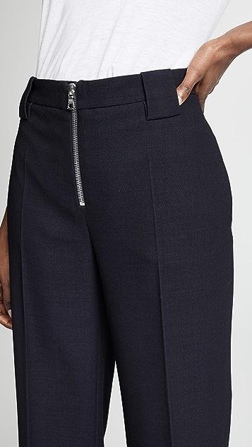Victoria Victoria Beckham Front Zip Pants